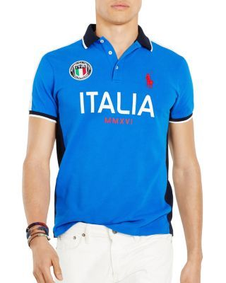 Italia Slim Fit Polo Shirtpoloralphlauren Lauren Ralph q4AL5Rj3