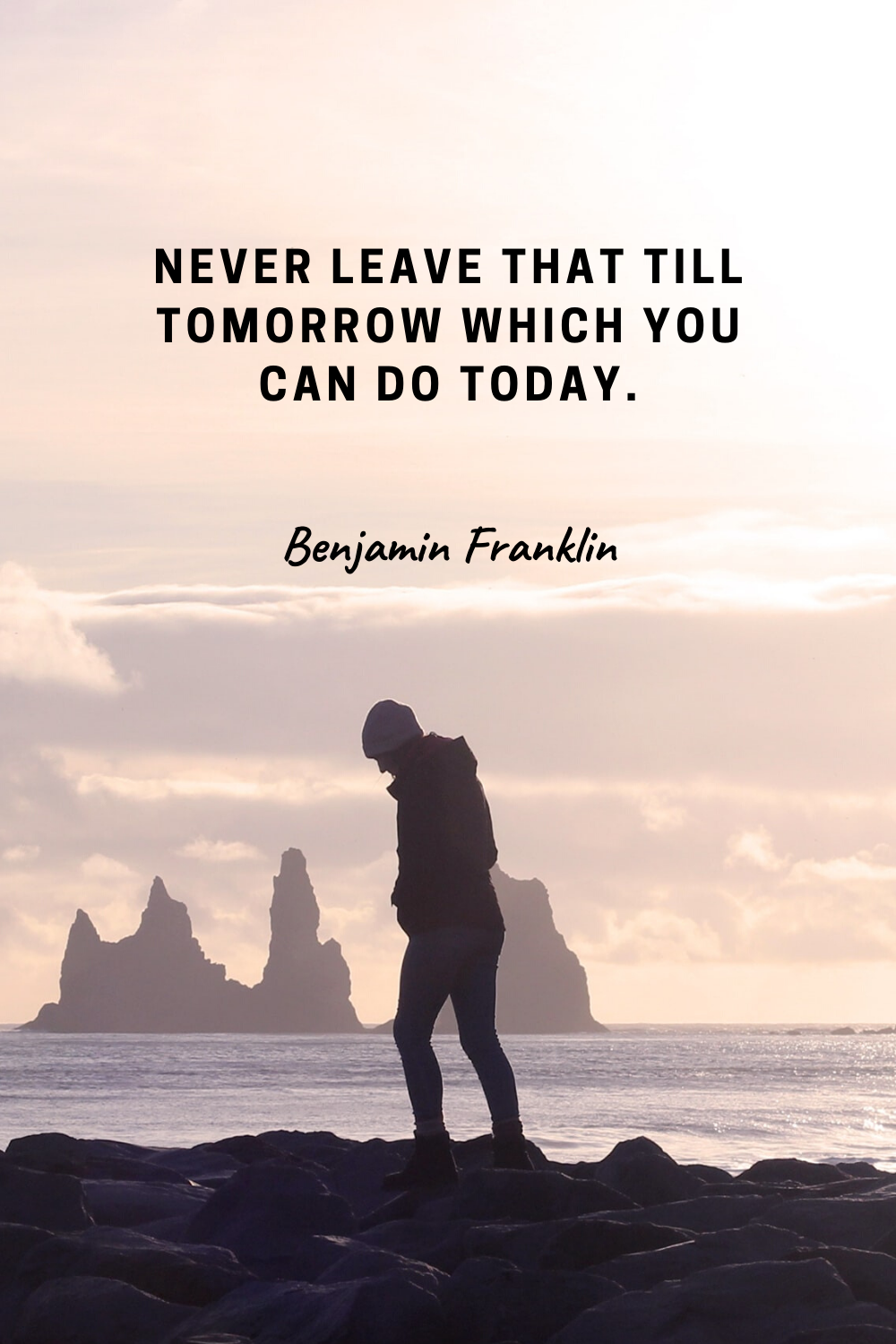 Happy Sunday to all Financial Freedom seekers! Here's one of our favorite quotes from Benjamin Franklin to keep you motivated! Definitely worth pinning! | positive inspirational quotes wisdom mindset #ideas #motivation #inspiration #wisdom #mindset #successfulpeople #staymotivated #positive