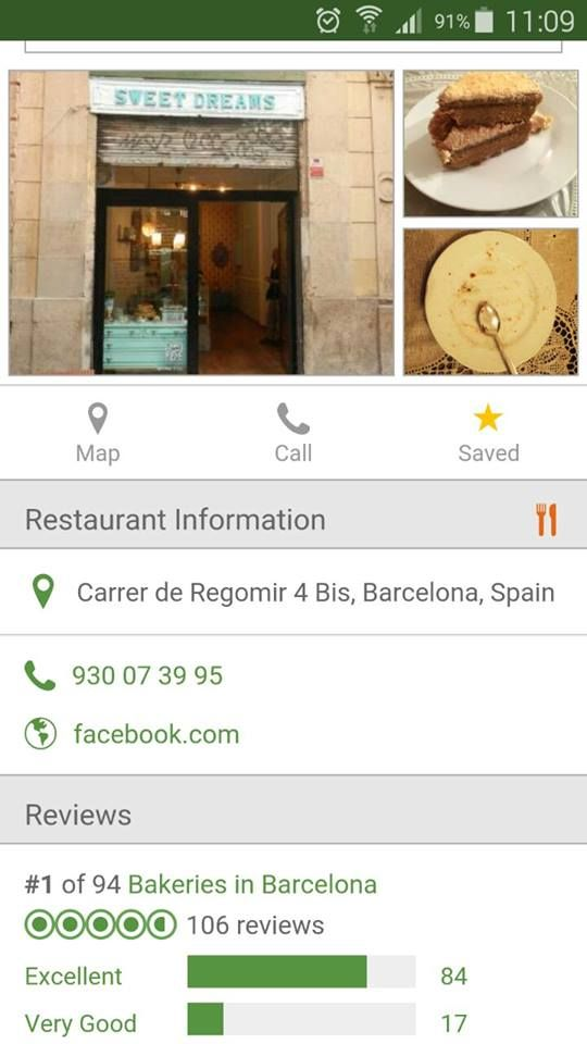 Orgullosos de ser el #1 en Tripadvisor Barcelona, de 94 mas!   Proud to be #1 in Barcelona Tripadvisor , out of 94 more!