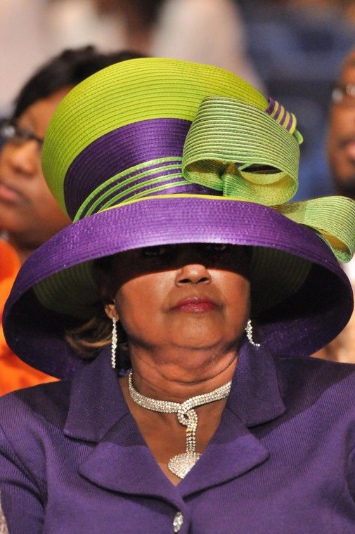Cogic Queens In Their Crowns Church Lady Hats Beautiful Hats Funky Hats