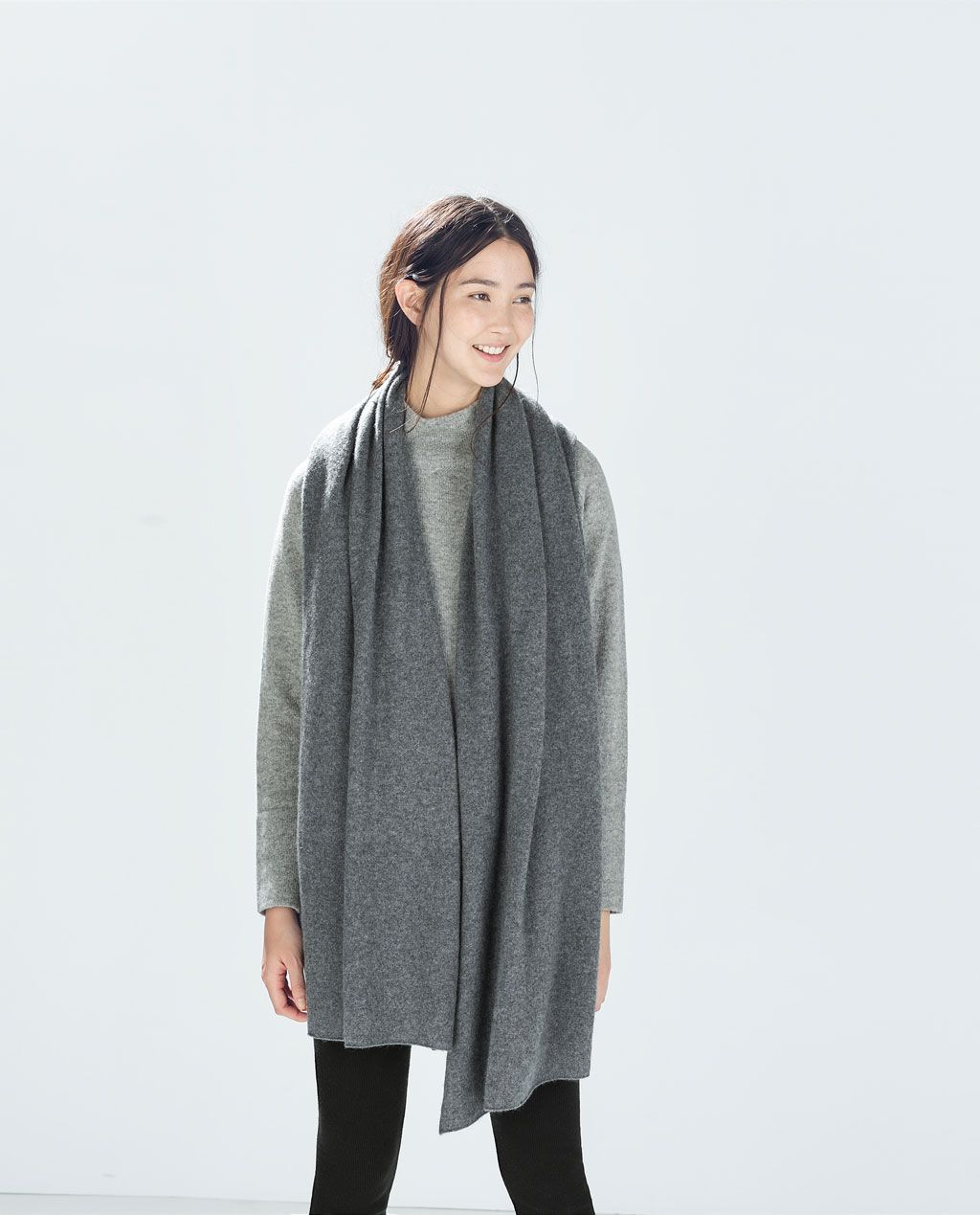 88a504f8185 Image 2 of SPECIAL EDITION CASHMERE SCARF from Zara