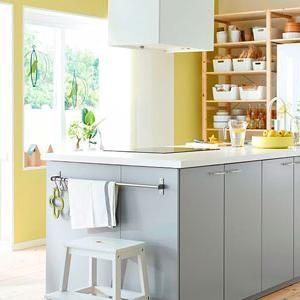 Farbige Wände in die Küche Farben für mehr Atmosphäre