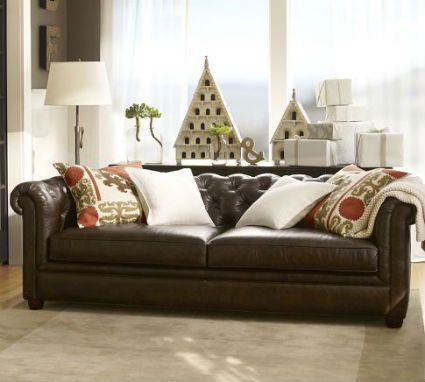 Cuero en la decoraci n sillones de cuero mesas de for Despachos lujosos