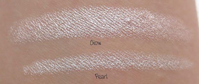 Eyeliner and Shadow Stick: Glow & Pearl  http://www.eyeslipsface.com/studio/eyes/eyeliner/eyeliner_and_shadow_stick