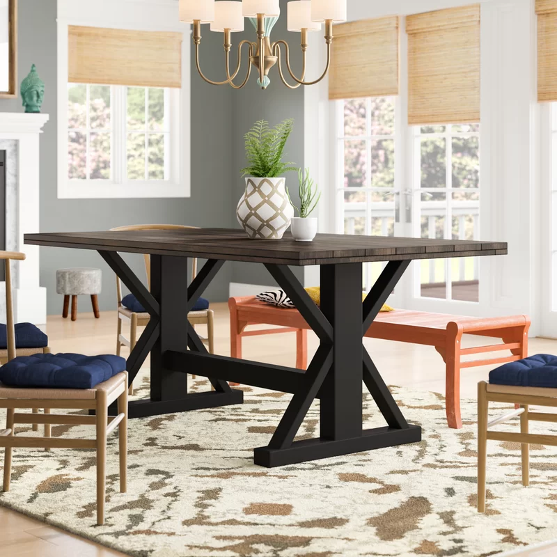 Finching Counter Height Solid Wood Dining Table With Images