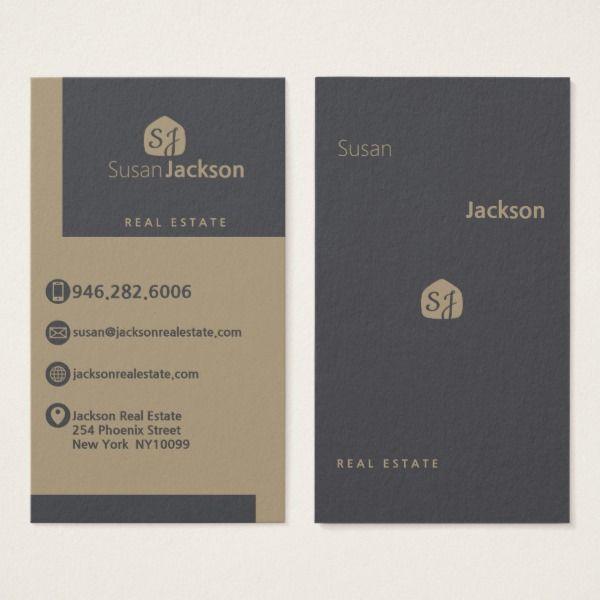 trendy office supplies. Modern Stylish Trendy Real Estate Business Card Custom Office Supplies #business #logo #branding