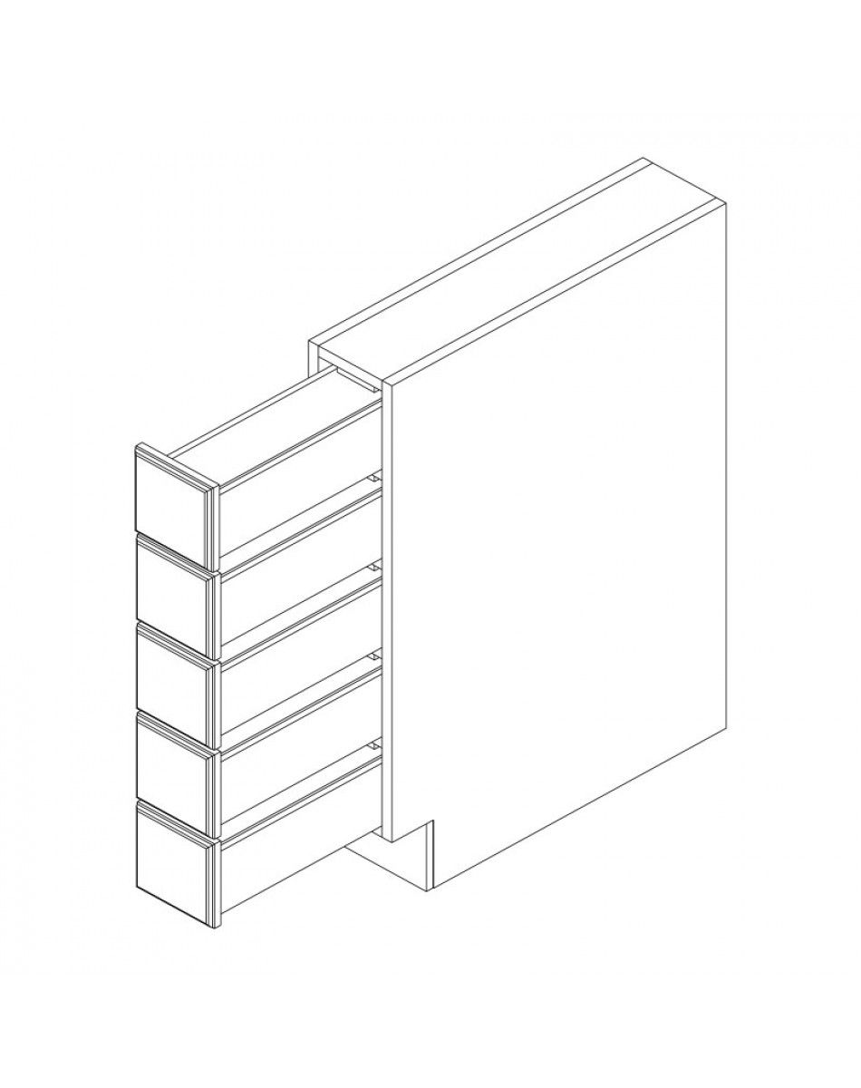 Adrian Base Cabinets Spice Drawer Cabinet