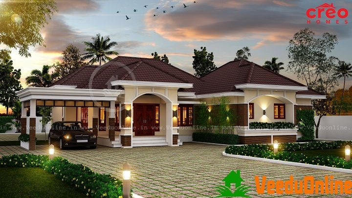 2771 Sq Ft Single Floor Contemporary Home Designs