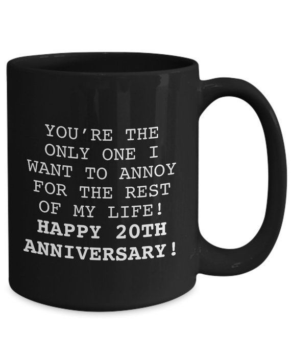 20TH ANNIVERSARY GIFT Mug Gifts for Husband Wedding by 22ndOfOctober #20thanniversarywedding 20TH ANNIVERSARY GIFT Mug Gifts for Husband Wedding by 22ndOfOctober #20thanniversarywedding