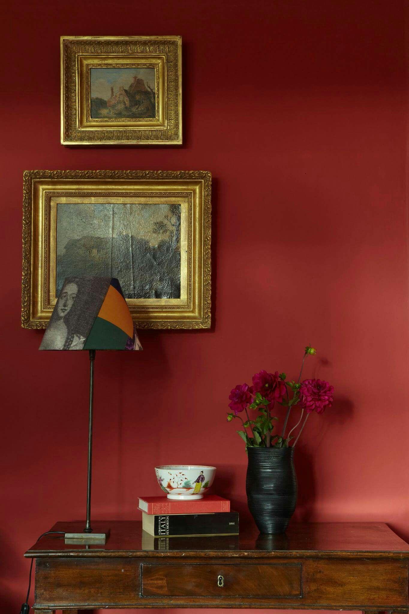 Pin di alessandra bianchi su colori per pareti pareti for Parete rossa soggiorno