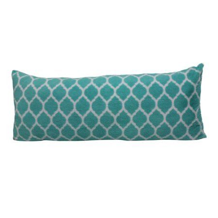 Walmart Body Pillow Cover Custom Your Zone Trellis Pillow Teal 1288  Home Bedroom  Pinterest Design Inspiration