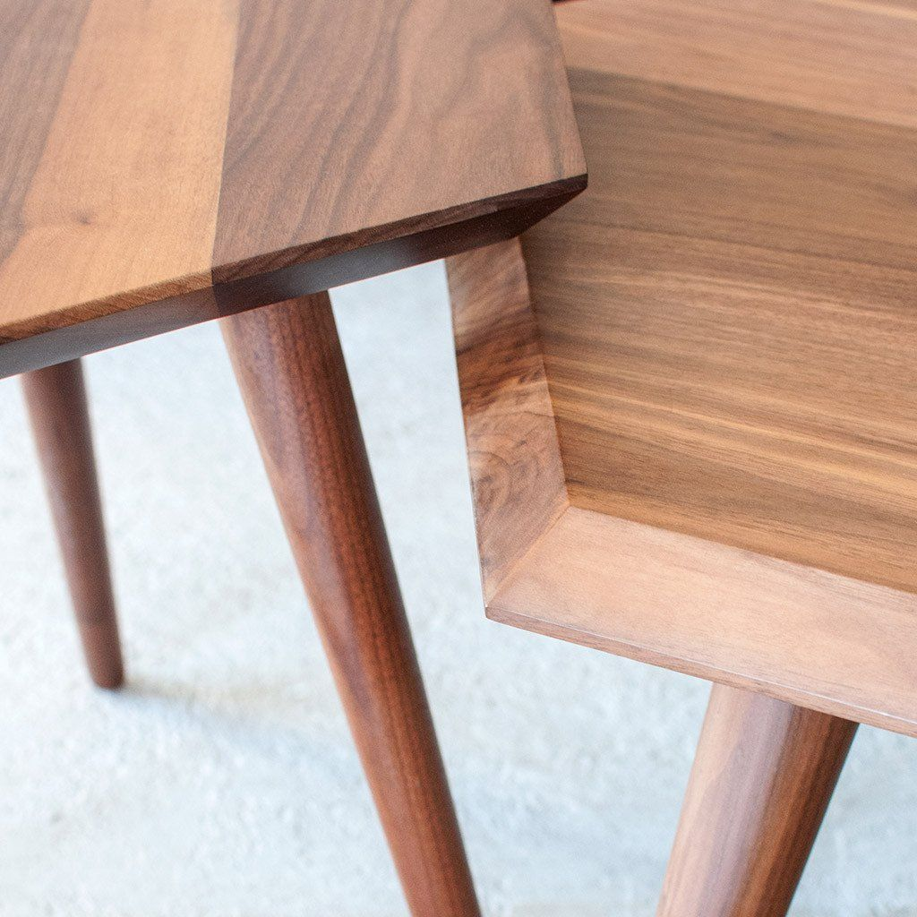 Metric Coffee Table Hexagon coffee table, Coffee table