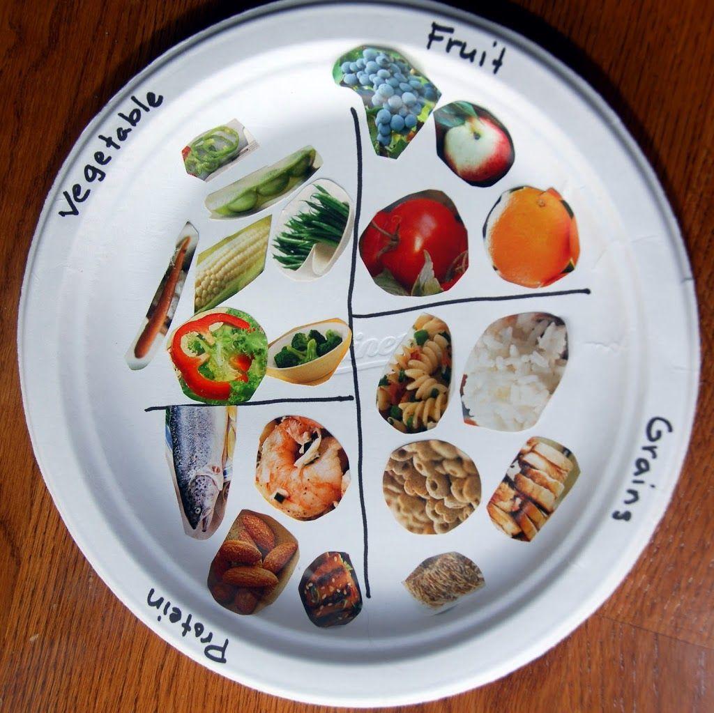 Food Plate Kids Nutrition Healthy Food Activities Nutrition Activities [ 1023 x 1024 Pixel ]