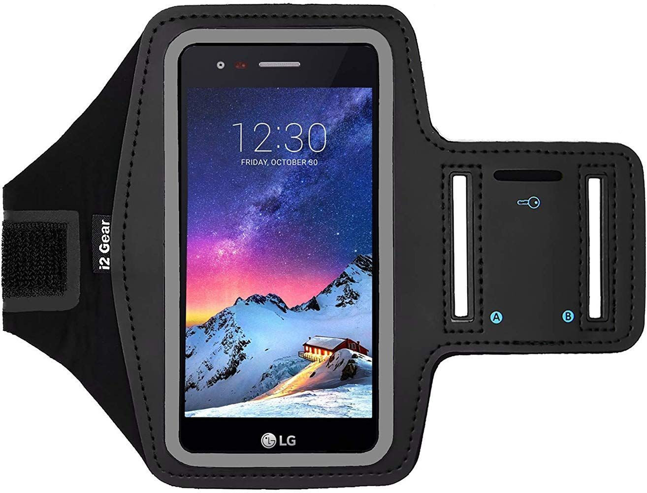 i2 Gear Fitness Cell Phone Armband for Running - Workout Phone Holder with Adjustable Strap Reflective Edge - Arm Band Case for LG K8 (Black) #watches #jewelry #fashions #trends #moda #women #men #armband #armbandworkouts i2 Gear Fitness Cell Phone Armband for Running - Workout Phone Holder with Adjustable Strap Reflective Edge - Arm Band Case for LG K8 (Black) #watches #jewelry #fashions #trends #moda #women #men #armband #armbandworkouts