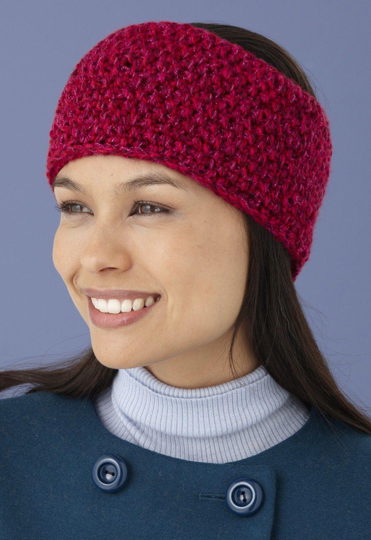 Seed Stitch Headband Pattern (Knit) | Knit headband ...