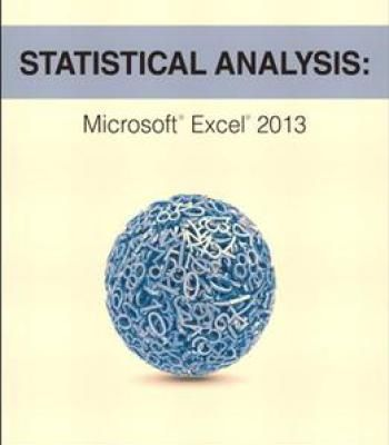 Statistical Analysis Microsoft Excel 2013 PDF Software