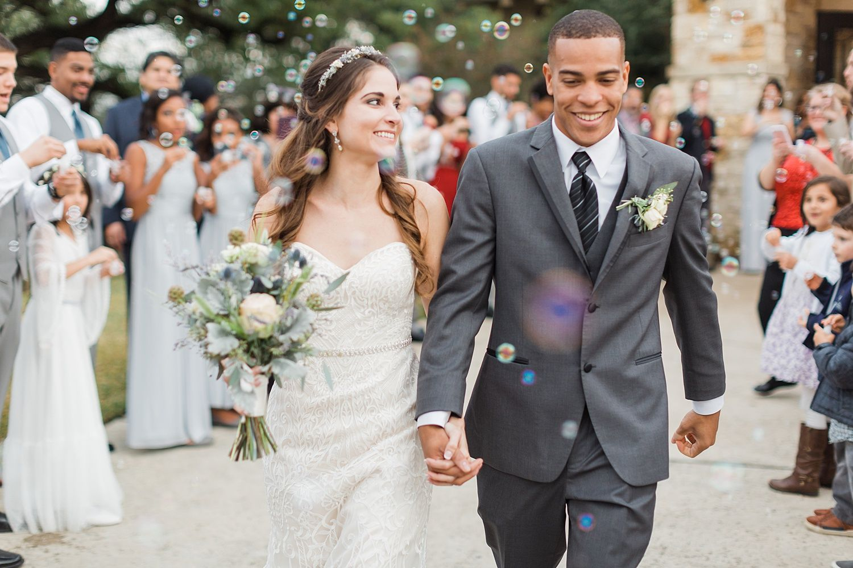 Rustic boho dusty blue wedding at cathedral oaks dusty blue