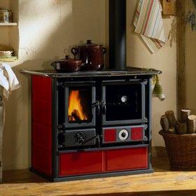 wood burner and cooking stove. magic