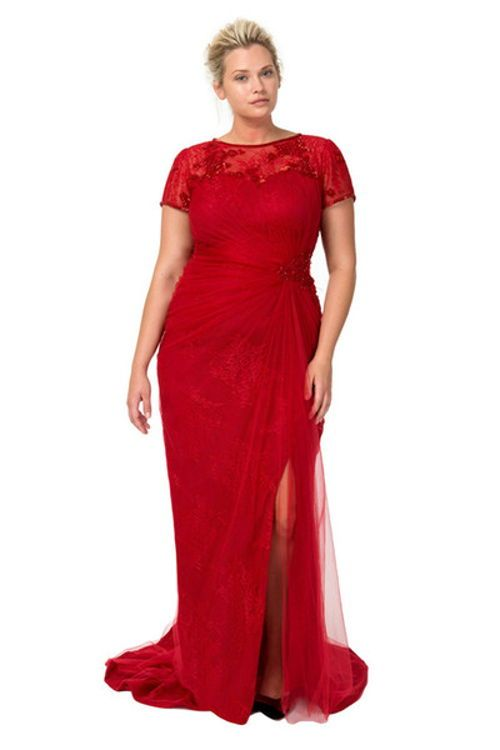 vestido-largo-rojo | vestidos | Pinterest | Vestido largo, Rojo y ...