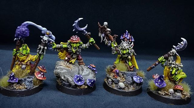 Warhammer AOS Shadespire Pro Painted Underworlds Nightvault Mollog/'s Mob