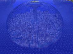 atlantis city minecraft project gaming world pinterest