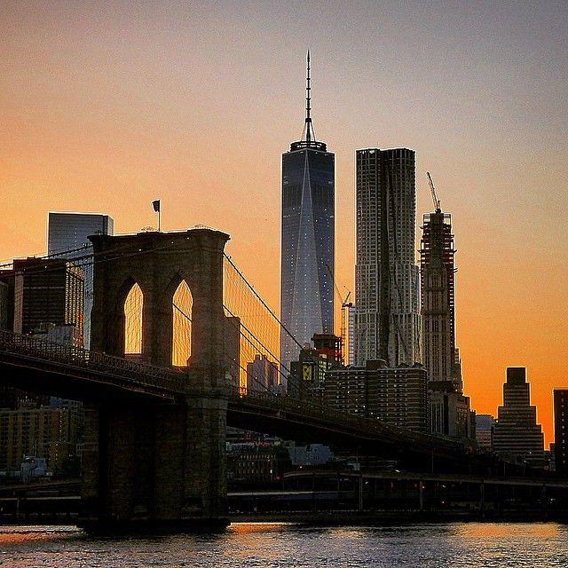 """""""Brooklyn bridge sunset ... #newyork #nycprimeshot #ig_nycity #ig_nycity #igs_world #ig_captures #igs_america #igworldclub #ImagesofNYC #icapture_nyc…"""""""