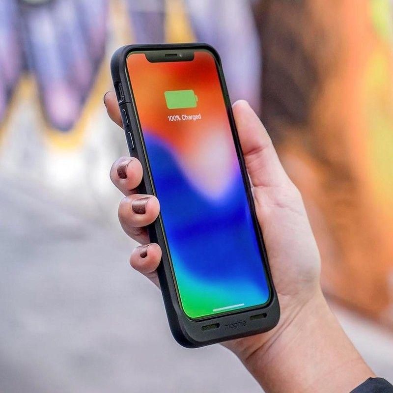 Extend your iphone xs battery life with mophies new mfi