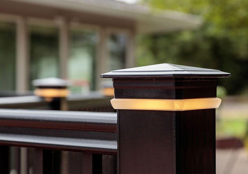 Best Trademark Deck Railing Bottom View Railing Timbertech Azek 400 x 300