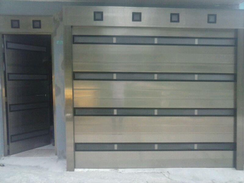 Resultado de imagen para portones electricos decoracion - Puertas para cocheras electricas ...