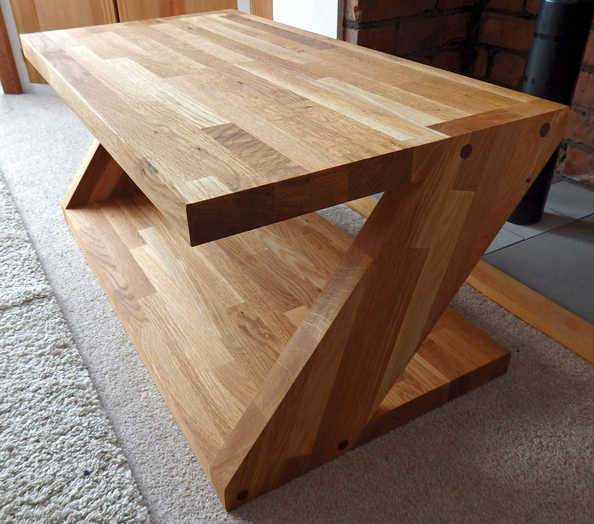 purple heart wood furniture. Made From Offcuts Of Oak Kitchen Worktop And Purple Heart Plugs To Add A Little Spice Wood Furniture C