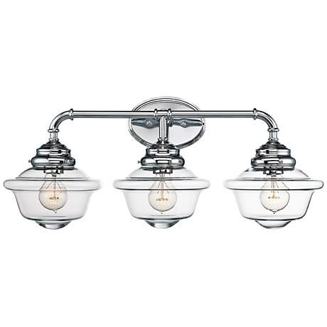 Savoy House Fairfield Wide Light Chrome Bath Light Bath - Savoy bathroom light fixtures