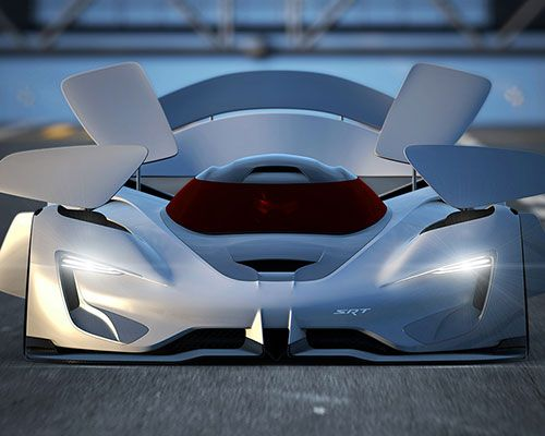 Srt Contemplates The Future Supercar With Tomahawk Vision Gran Turismo Concept Cars Super Cars Sports Cars