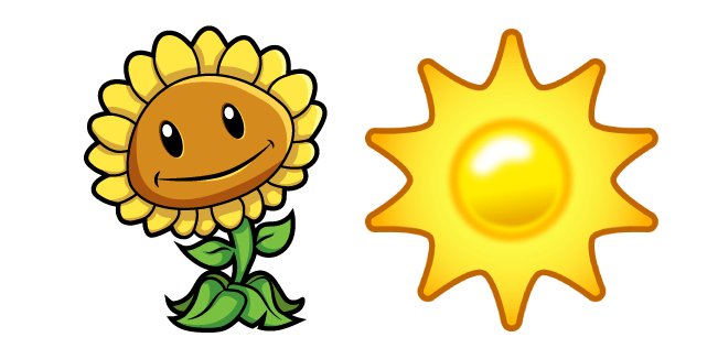 Plants Vs Zombies Sunflower And Sun In 2020 Sunflower Plant Zombie Plants Vs Zombies