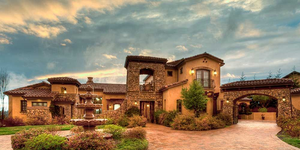 Tuscan house plans homes pinterest tuscan house for Luxury tuscan house plans