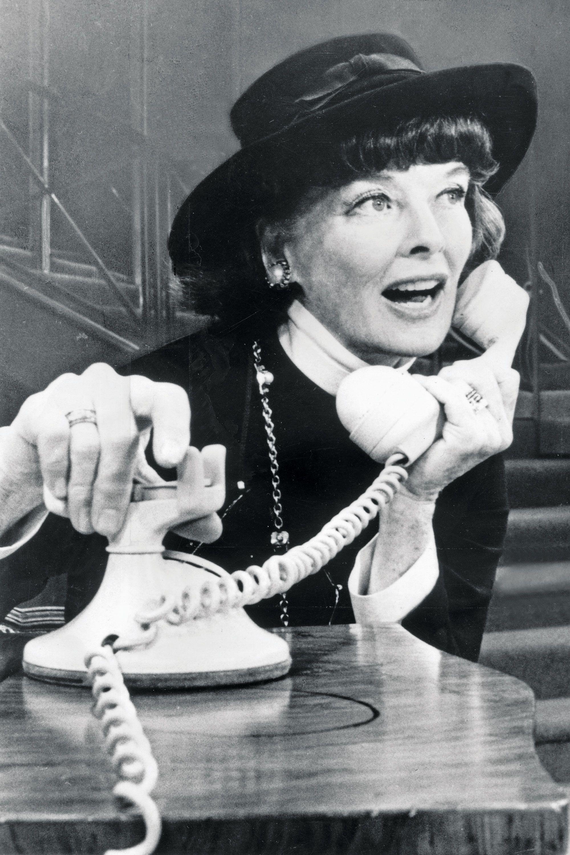 234ce1d383d8 Katharine Hepburn as Chanel in Coco on Broadway Getty Images - HarpersBAZAAR .com