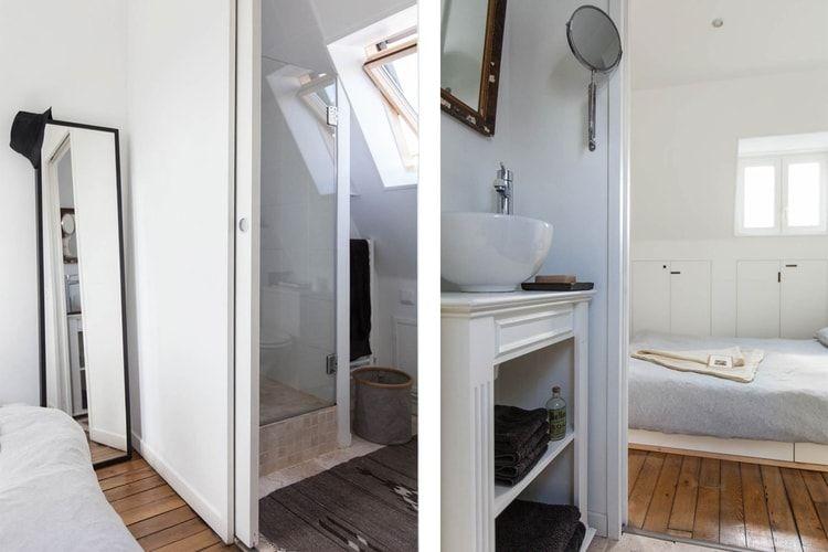 Une salle d\'eau communicant avec la chambre   salle de bain   Pinterest