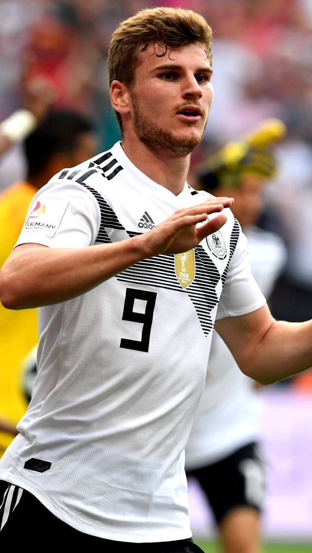 Timo Werner Ne Fredao Germany National Football Team Germany Football Germany Team