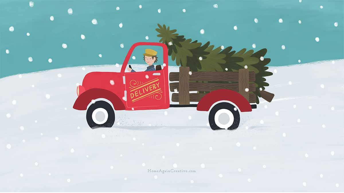 Free Cute Modern Christmas Wallpapers For Your Desktop And Phone Clementine Creative Christmas Desktop Wallpaper Christmas Wallpaper Christmas Wallpaper Free