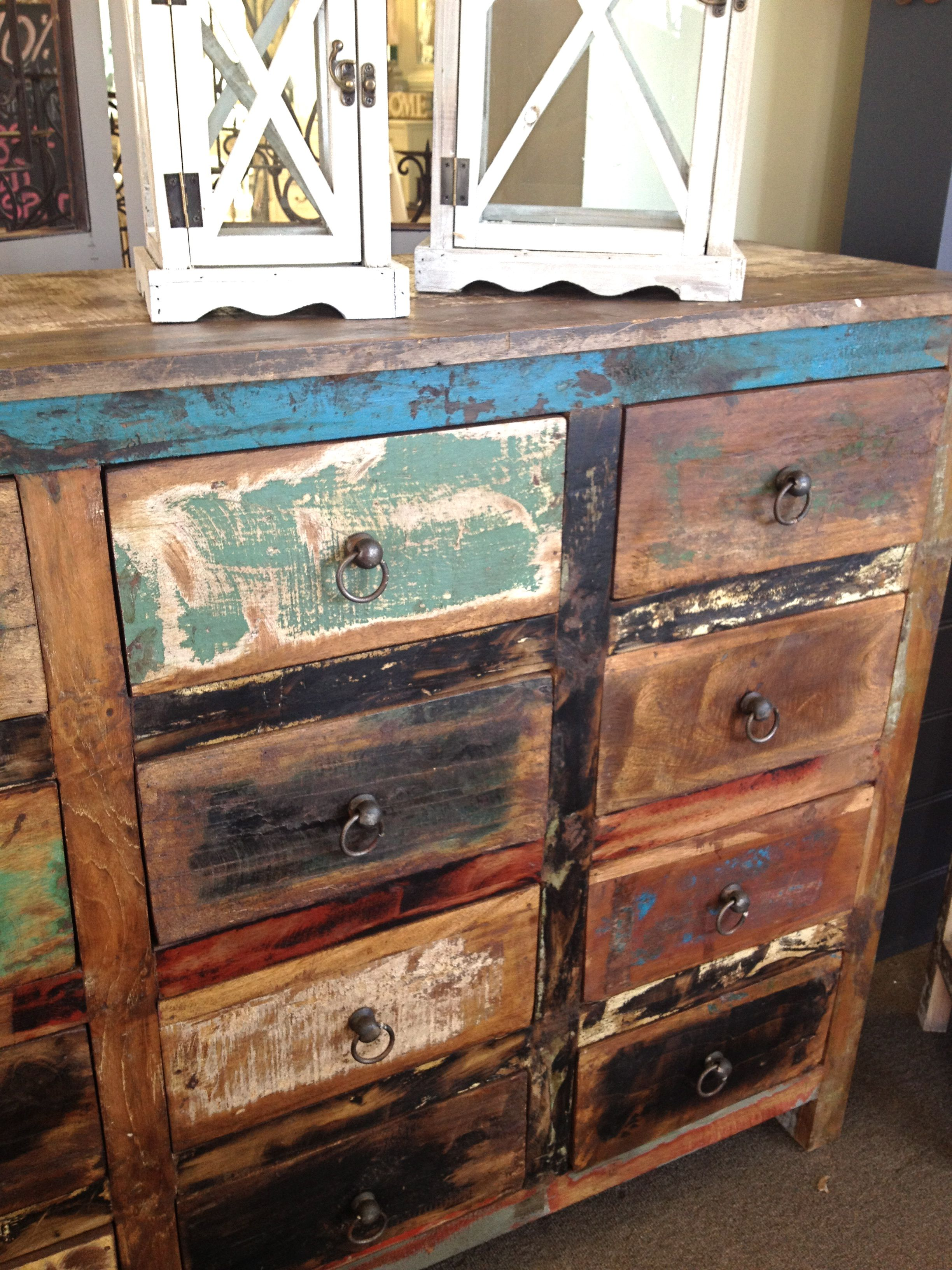 Distressed Wood Furniture Creating Lovely Rustic Charm