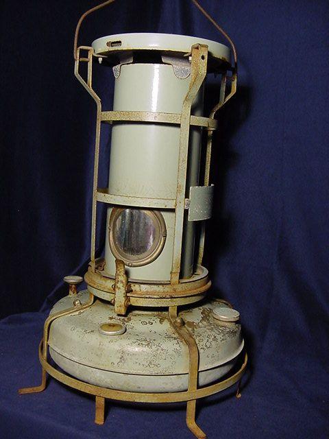Vintage Aladdin Blue Flame Kerosene Heater Bought At A Yard Sale