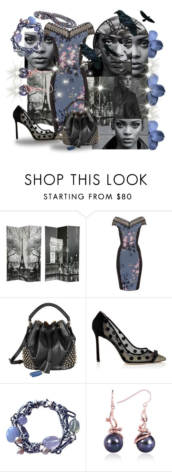 """""""Across Continents, Across Time - She Leads, He Will Follow"""" by sharee64 ❤ liked on Polyvore featuring Murphy, Little Mistress, Sara Battaglia, National Geographic Home, David Yurman and Kobelli"""