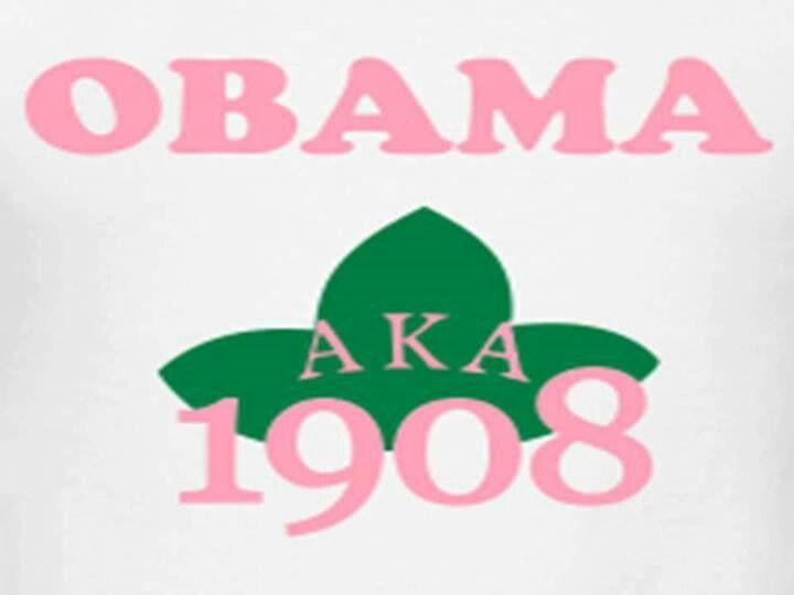 AKA 4 Obama #prettypearlsinc