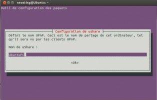 uShare. Créer un serveur DLNA UPnP sur un PC Ubuntu très facilement