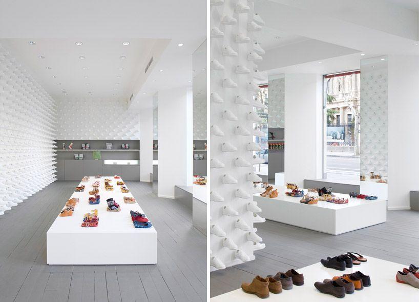 Nendo Camper Concept Stores In Madrid New York Interieur Boutique Design Magasins Concept