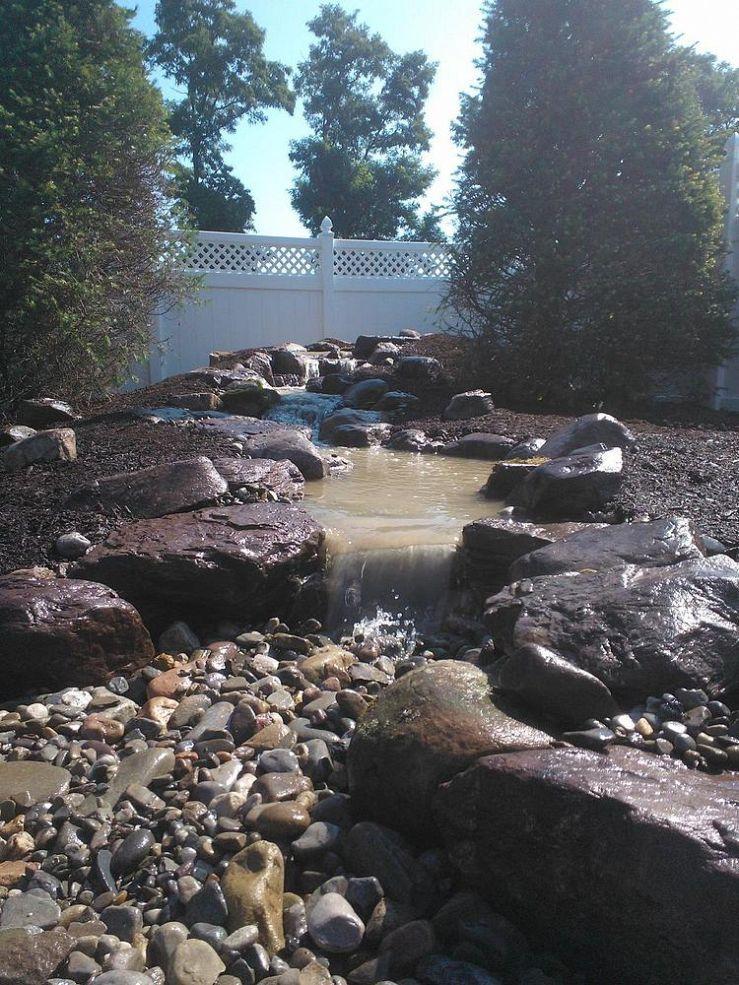 Fabulous DIY Build a Pondless Waterfall