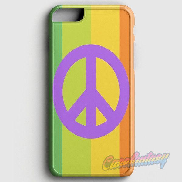 Peace and Love Sign iPhone 6 Plus/6S Plus Case | casefantasy