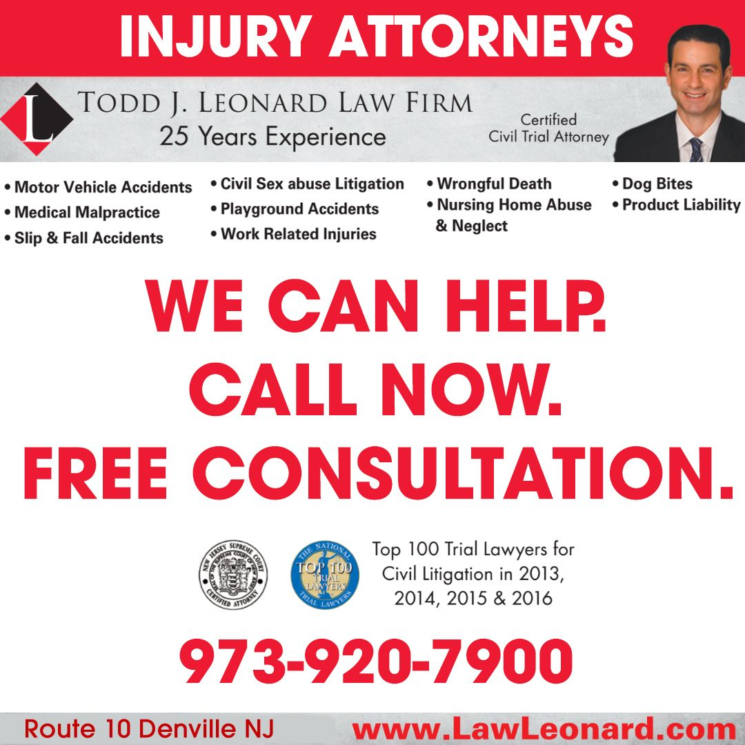 Workers Comp Lawyer In Morris County New Jersey , Injury