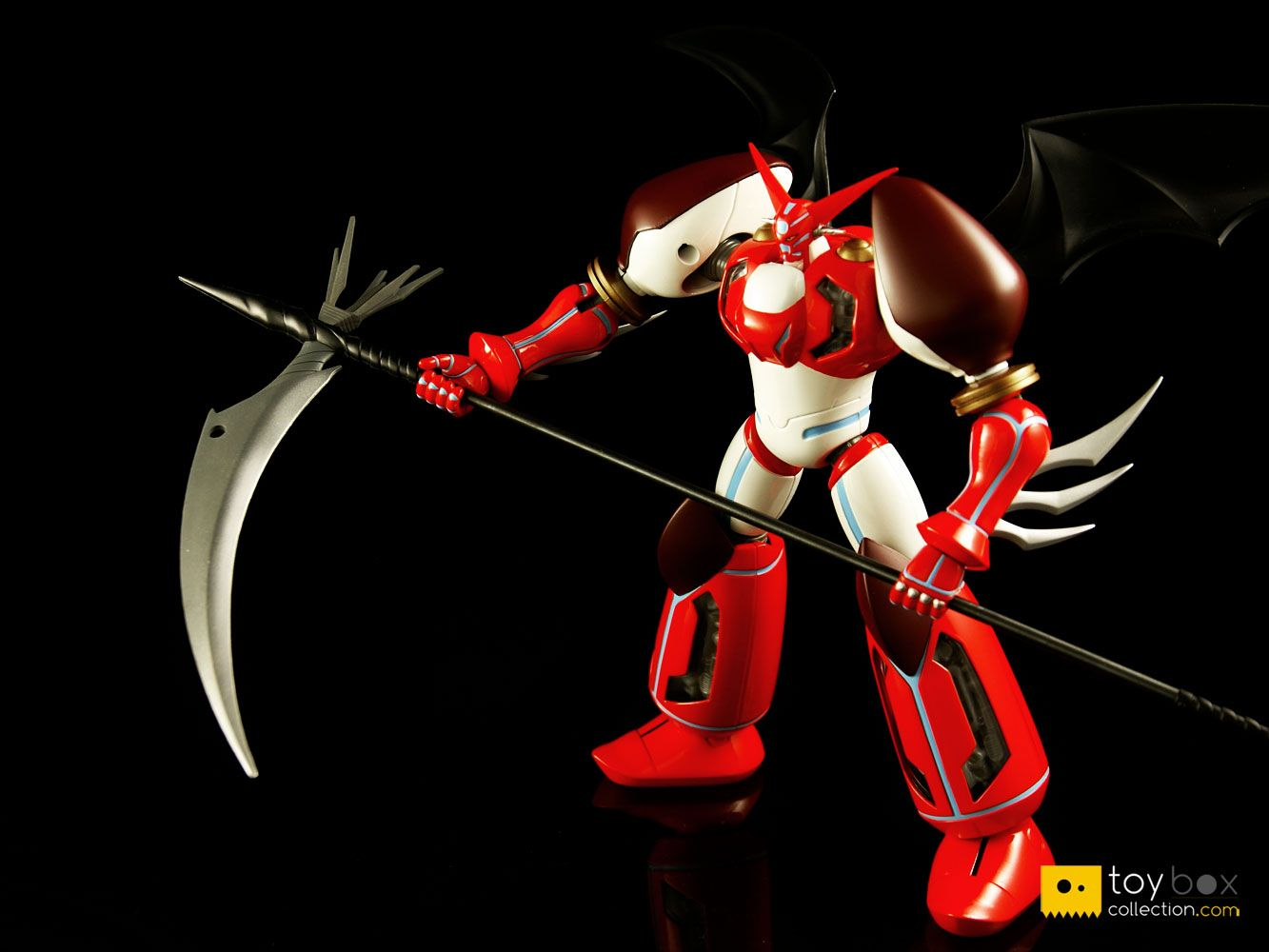 Review of aoshima shin seiki gokin shin getter 1 anime export w wings ver toyboxcollection