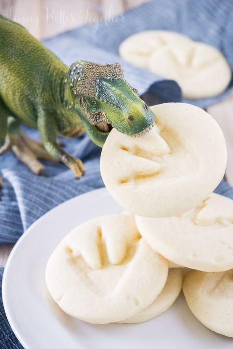 Jurassic Park Dinosaur Cookies | Sugar and Soul