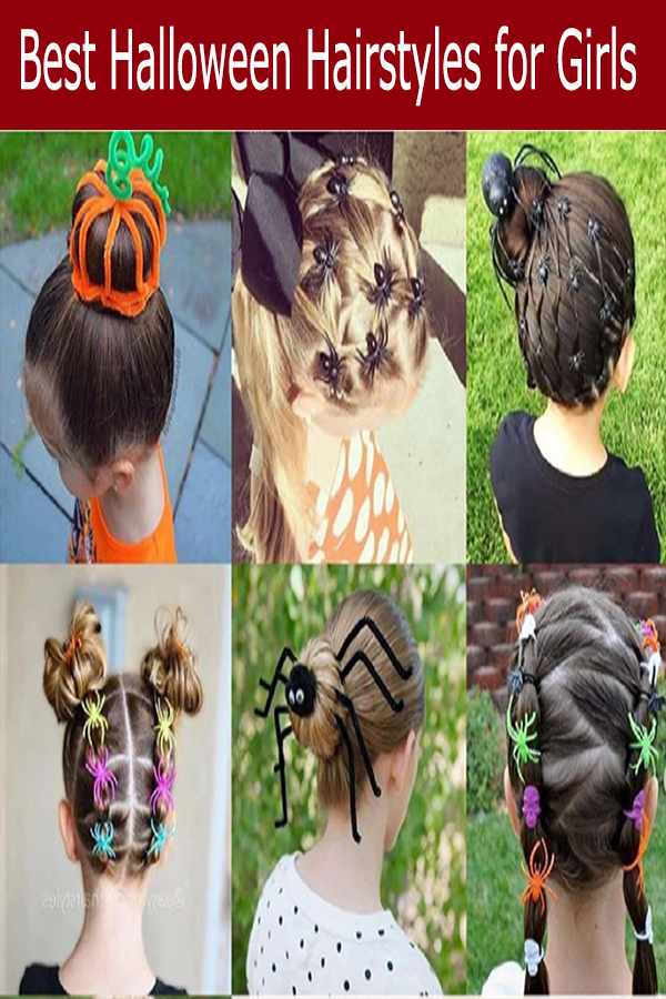 Crazy Halloween Hairstyle Ideas For Girls Hair Styles Halloween Hair Kids Hairstyles